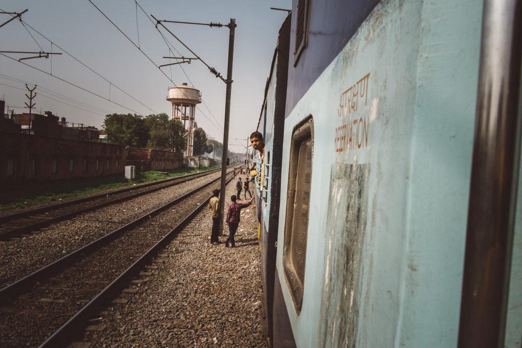 A vida nos trilhos indianos